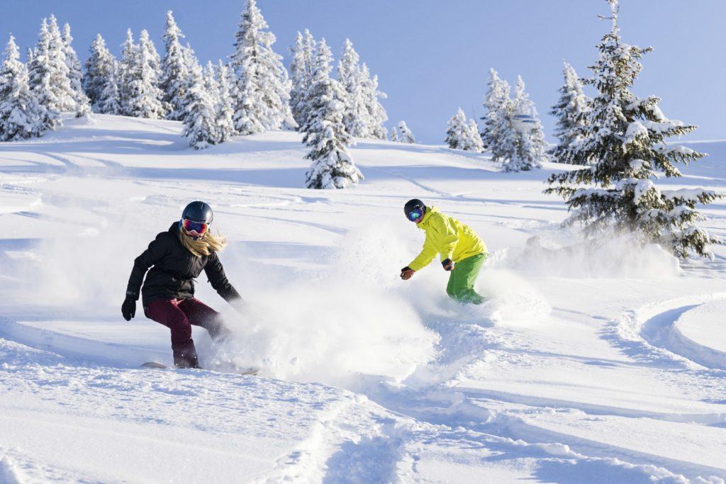 Snowboard fahren Österreich - Aldiana Club Hochkönig