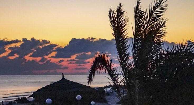 Sundowner über Aldiana Club Djerba