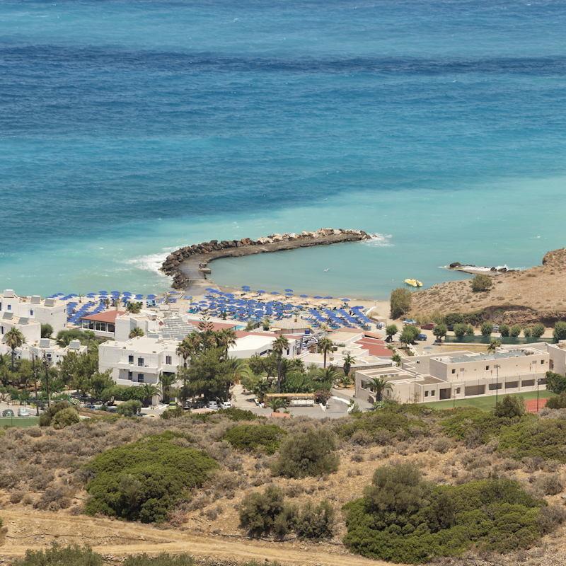 Traumlage auf Kreta