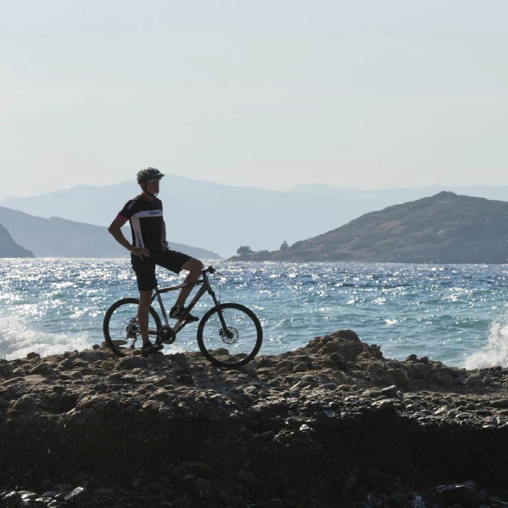 Mountainbike und Rennrad auf Kreta