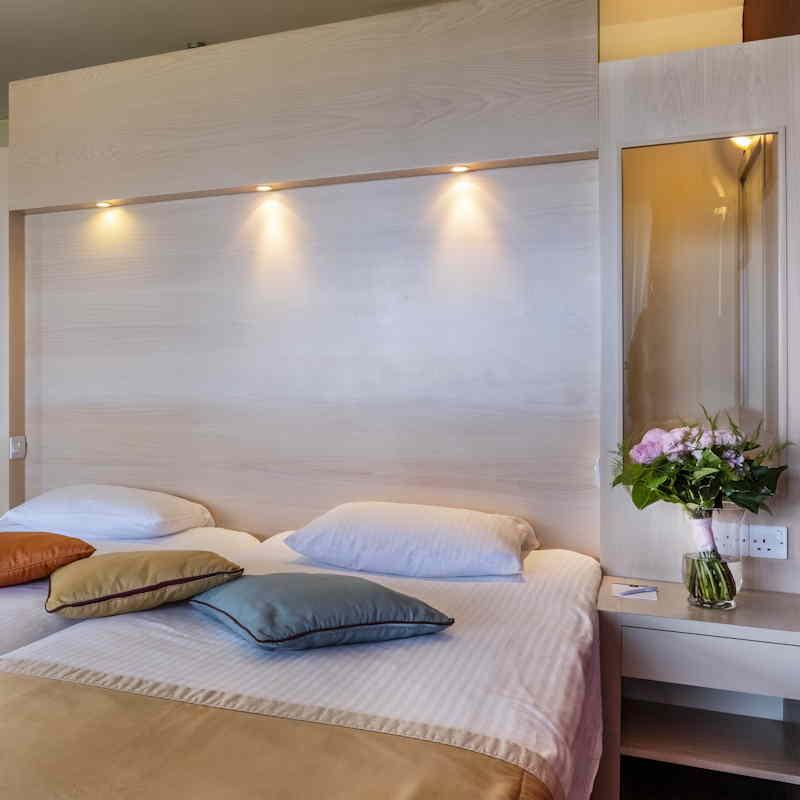 Bett im Doppelzimmer - Aldiana Club Zypern