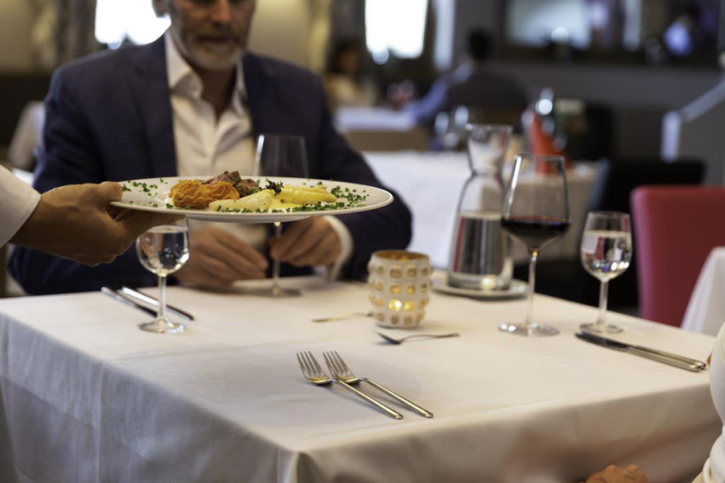 Abendessen im Aldiana Club Ampflwang