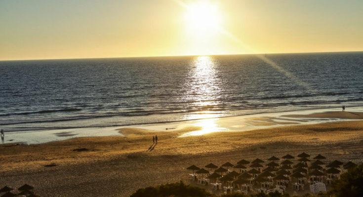 Aldiana Andalusien Sonnenuntergang am Strand