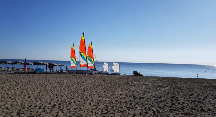 Katamaransegeln Aldiana Calabria