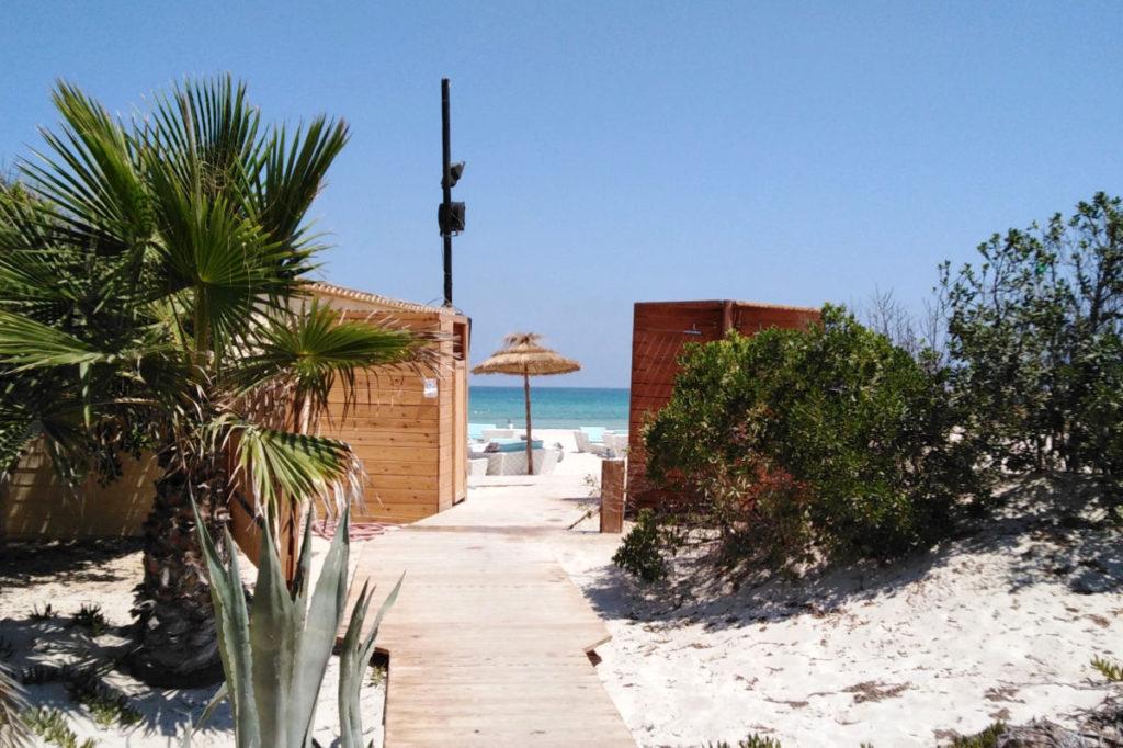 Aldiana Djerba Weg zum Strand