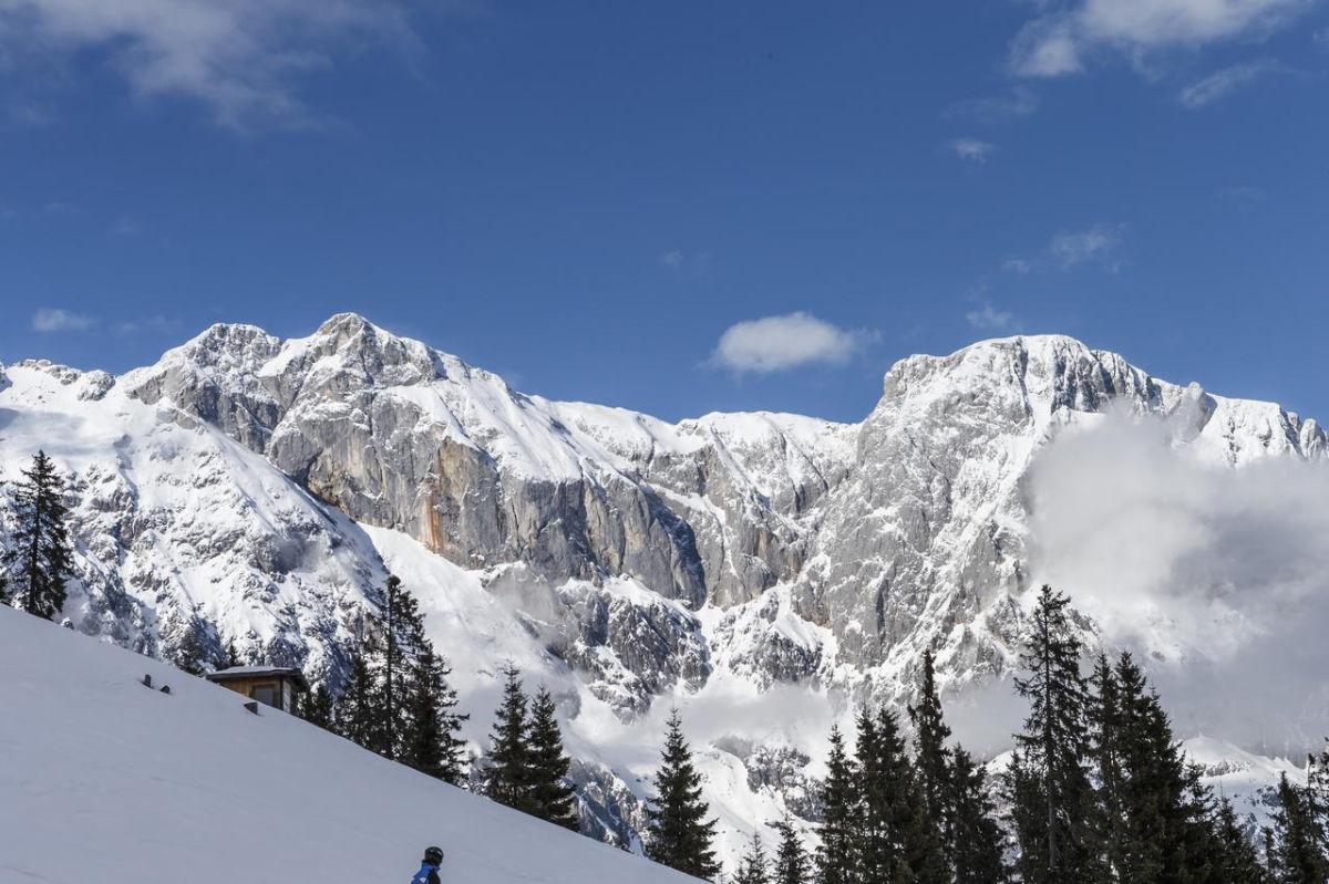 Aldiana Hochkönig Berge Schnee