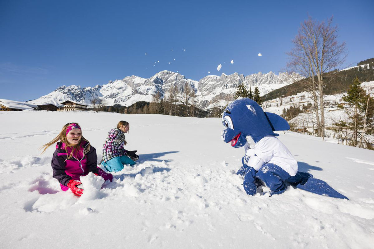 Aldiana Hochkönig Kinder Schnee