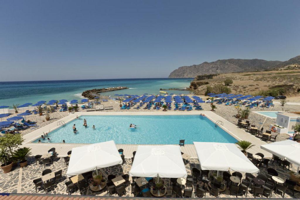 Aldiana Kreta Pool Bergpanorama