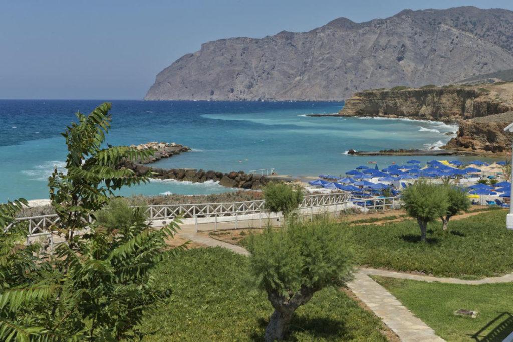 Aldiana Kreta Strand Bergpanorama