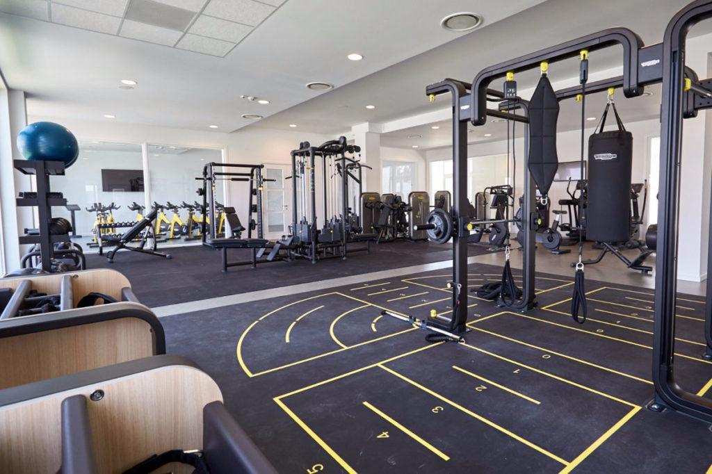 Sporturlaub im Aldiana Club: Gym mit neusten Geräten