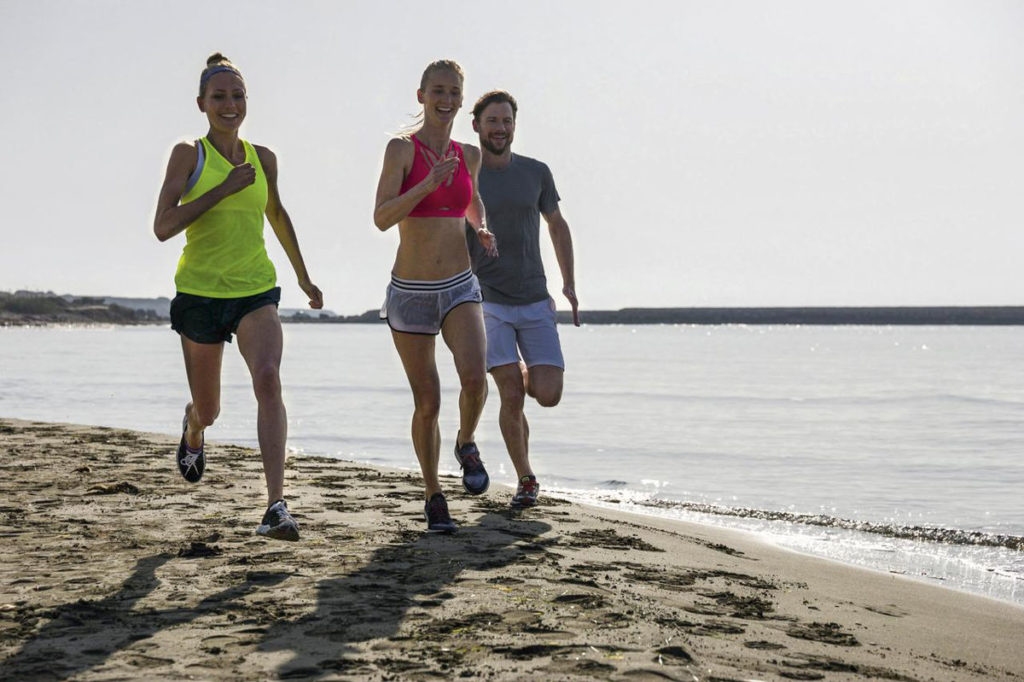 Joggen am Strand Aldiana Fitnessurlaub
