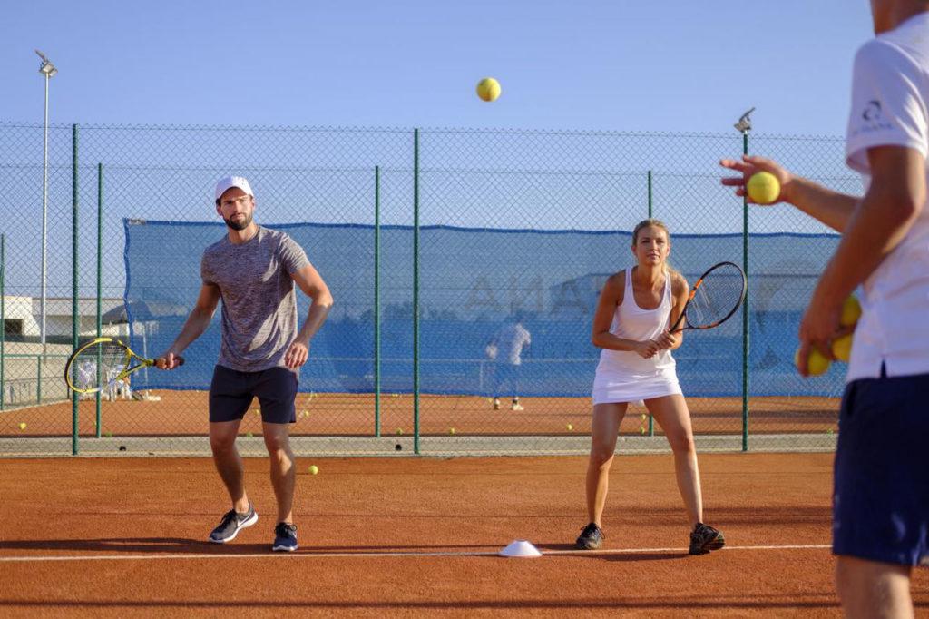 Urlaub Tenniskurs