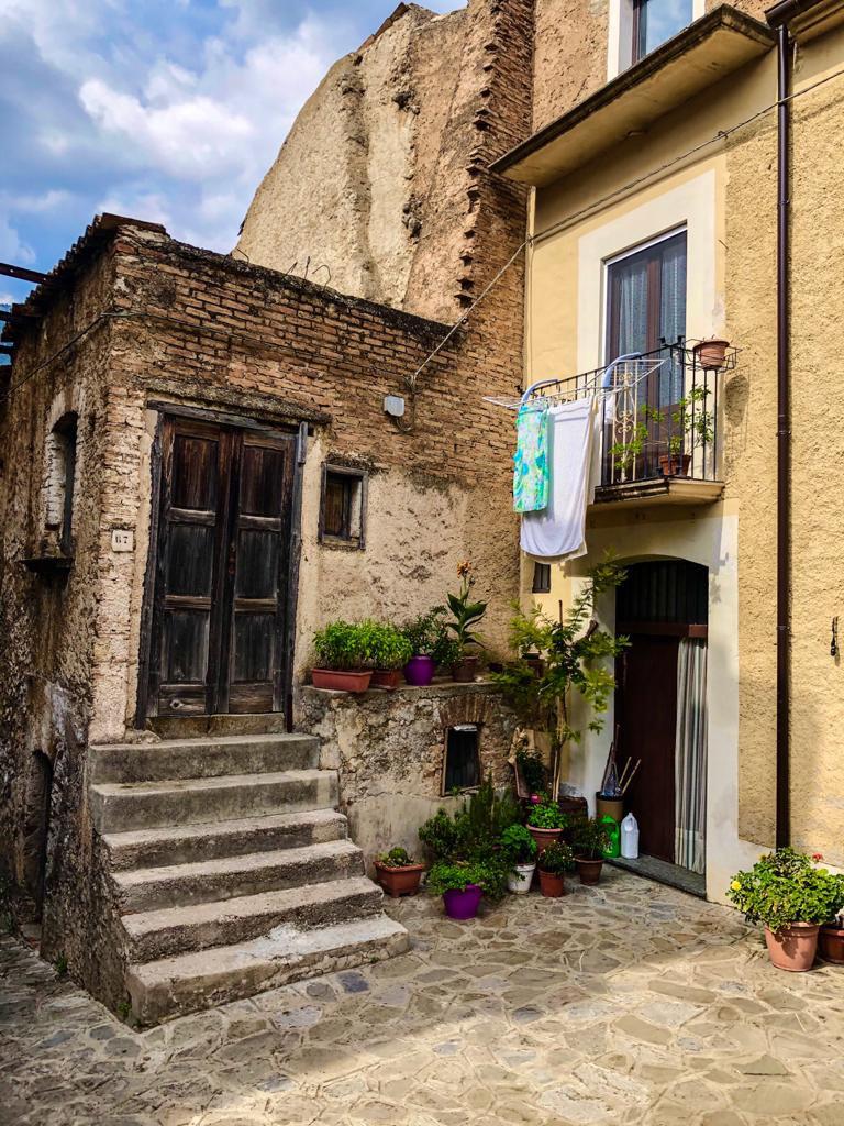 Haus in Civita, Kalabrien