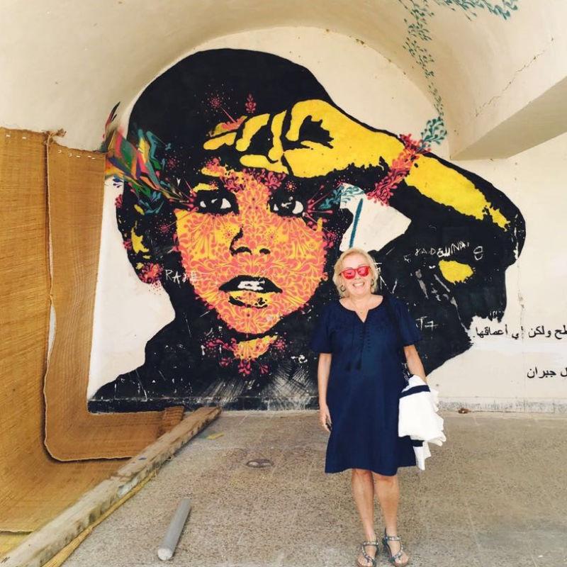 Aldiana Clubchefin Füsun in Djerbahood