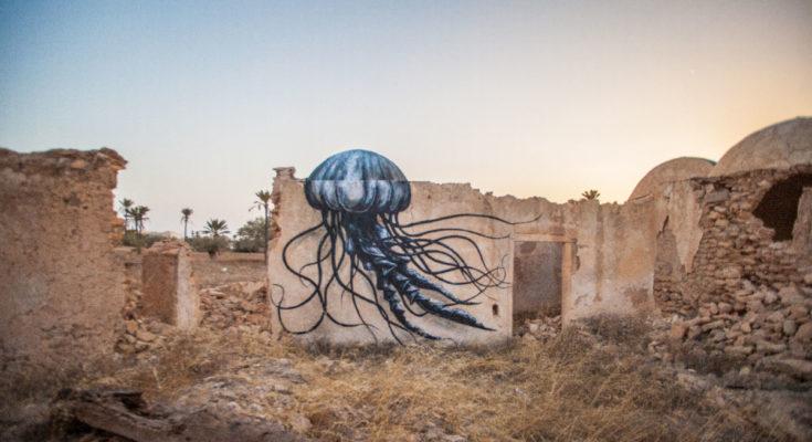 Djerbahood Streetart Tunesien