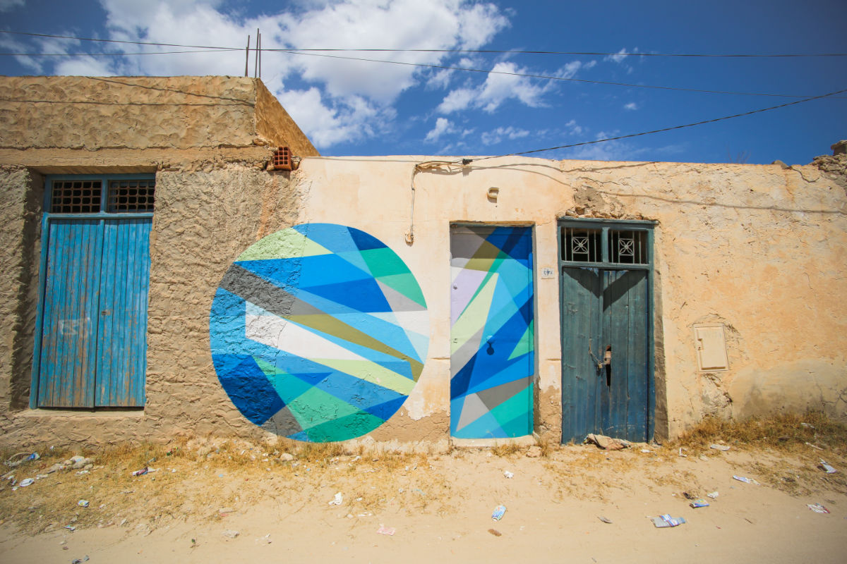 Djerbahood Graffiti-Dorf