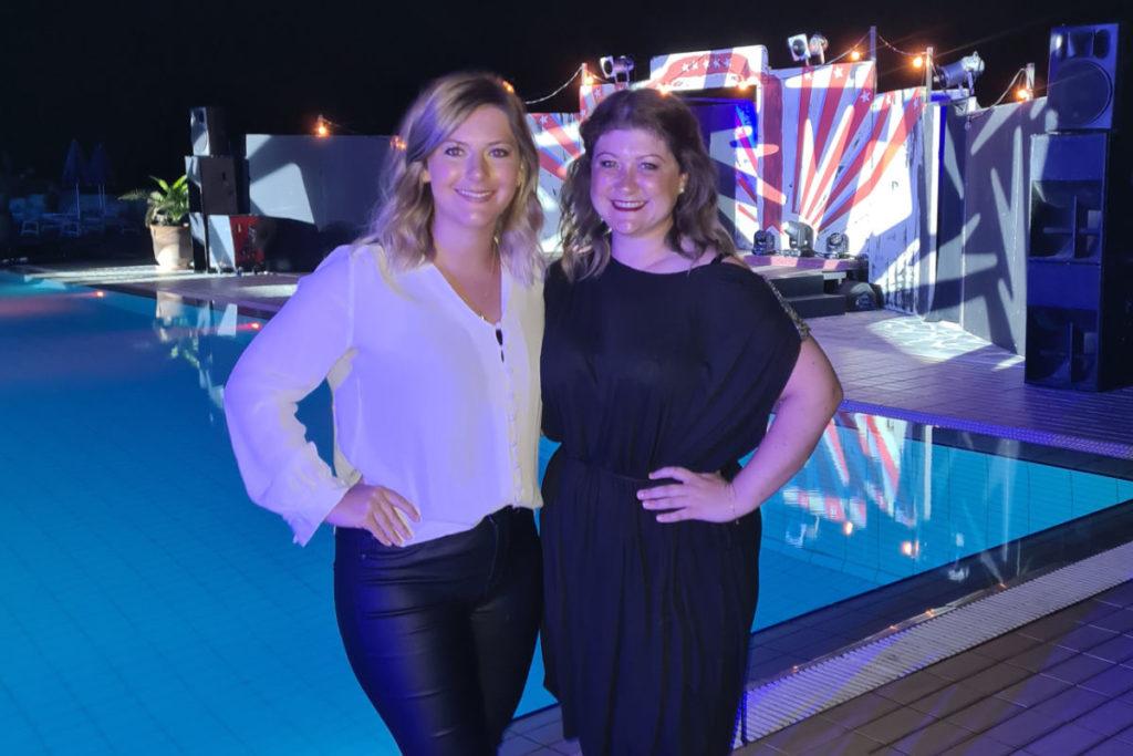 Katha & Melina im Aldiana Club Kreta