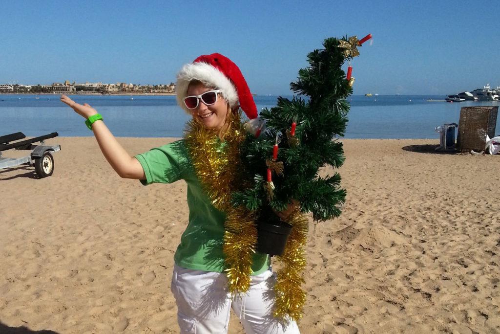 Katha Weihnachten am Strand
