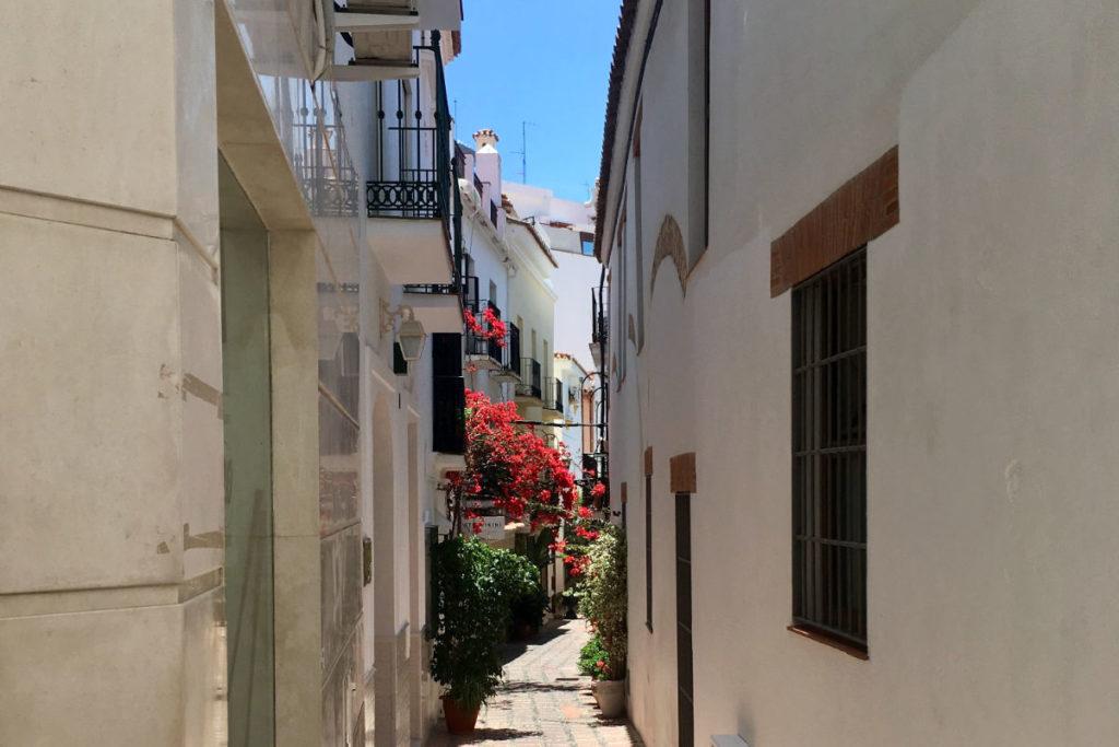 Marbella Altstadt Gasse