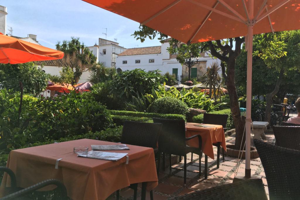 Marbella Orangenplatz