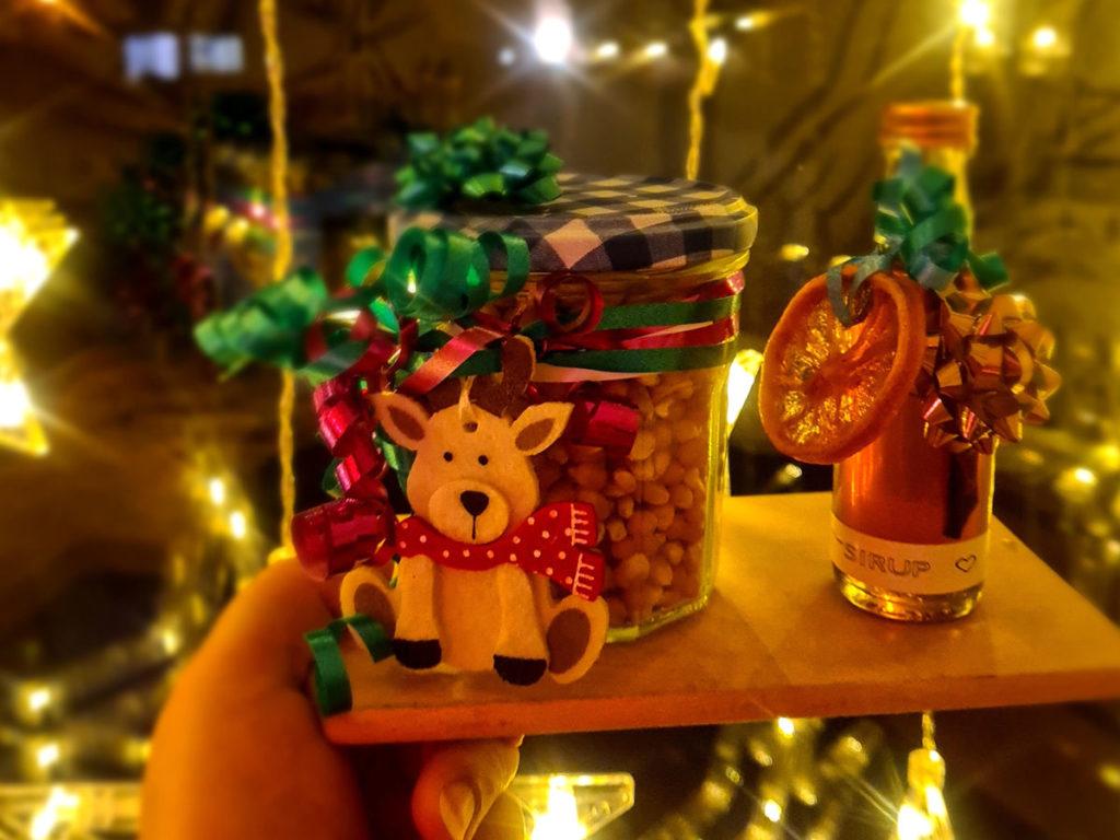 Popcorn Weihnachtsgeschenk