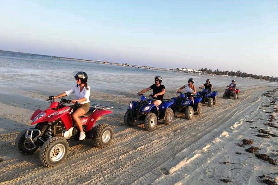 Quad-Tour Djerba Lagune