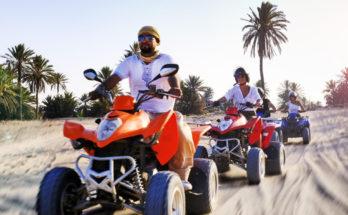 Quad-Tour durch die Wüste Djerbas