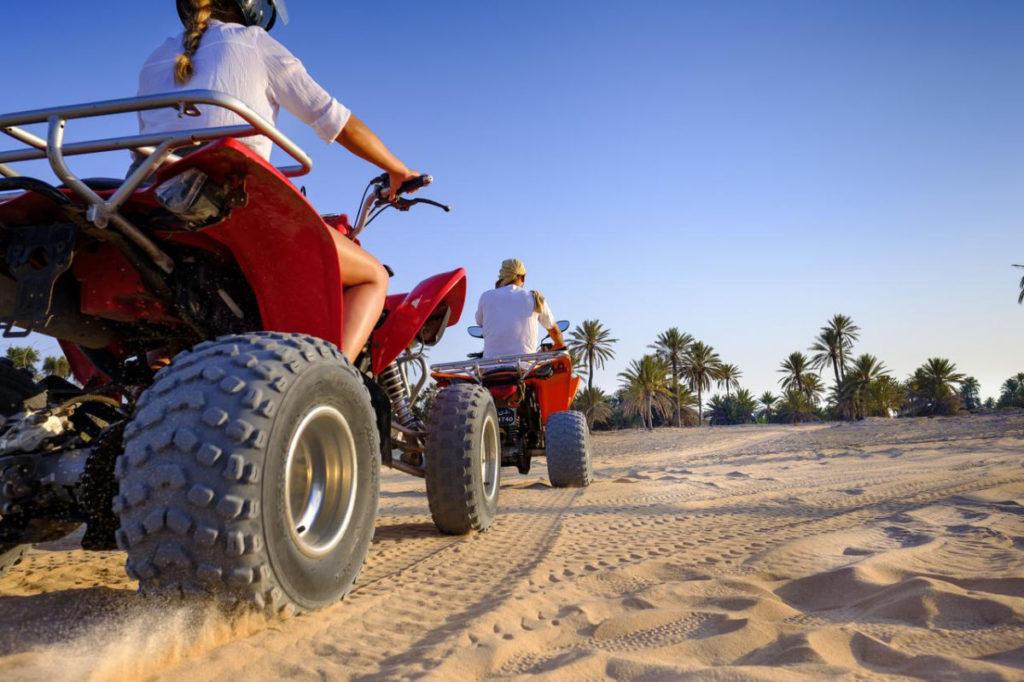 Quad Wüste Tunesien