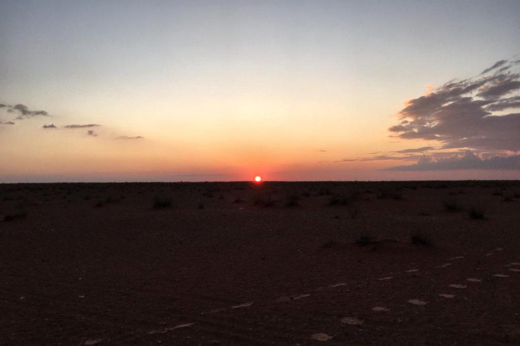 Sonnenuntergang in Zmela
