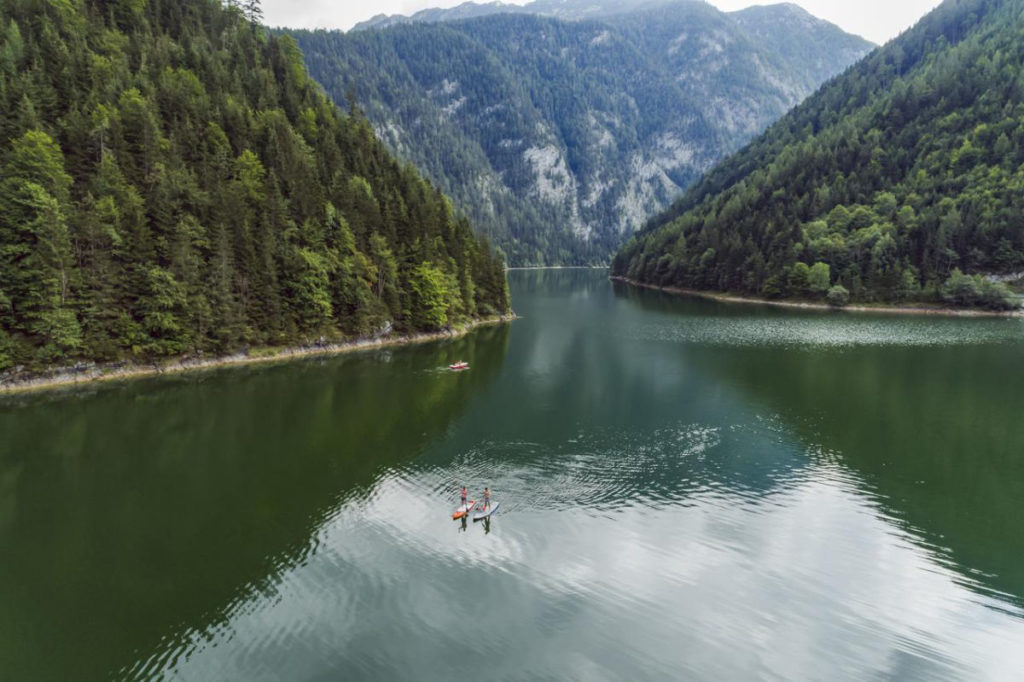 Stand-up-Paddling in Österreich
