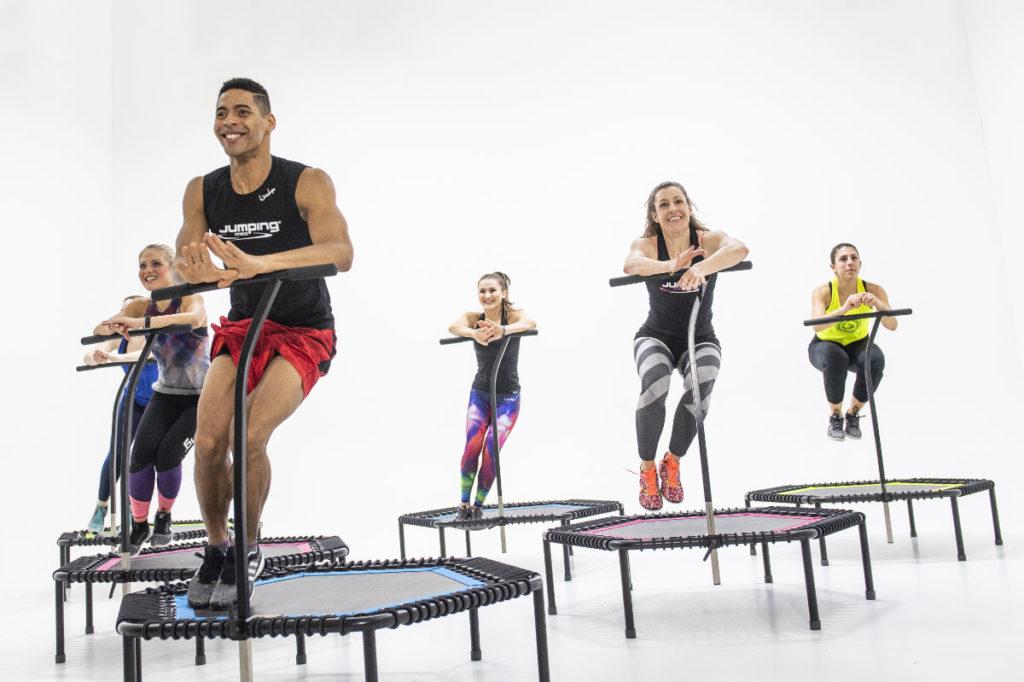 Trampolin-Fitness