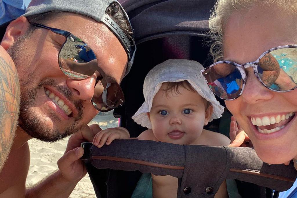 Urlaub Baby Strand