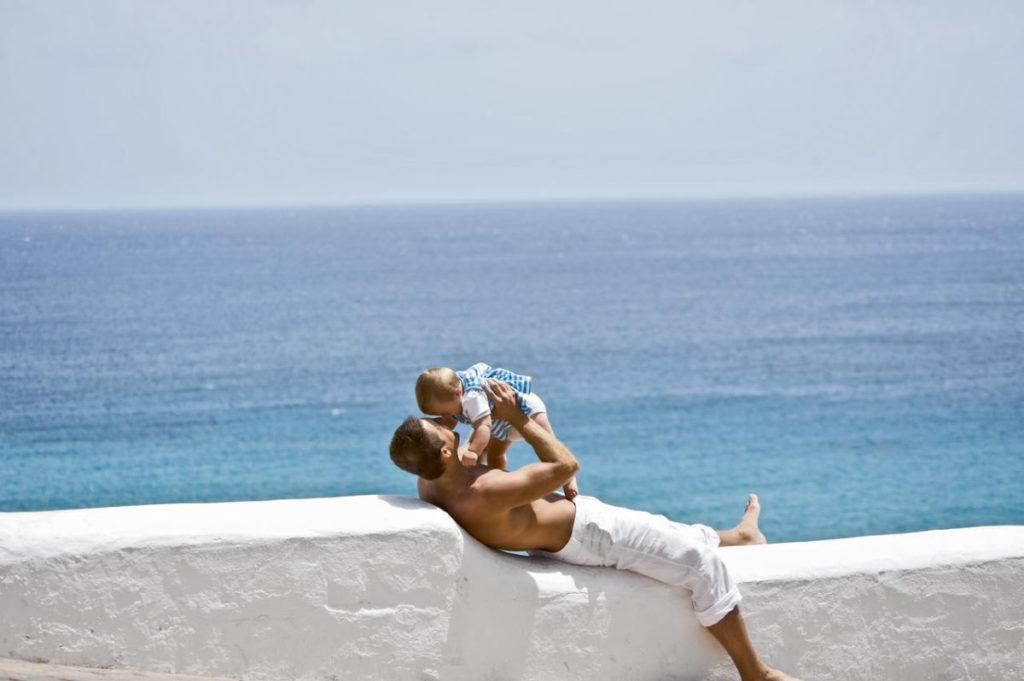 Urlaub mit Baby am Meer