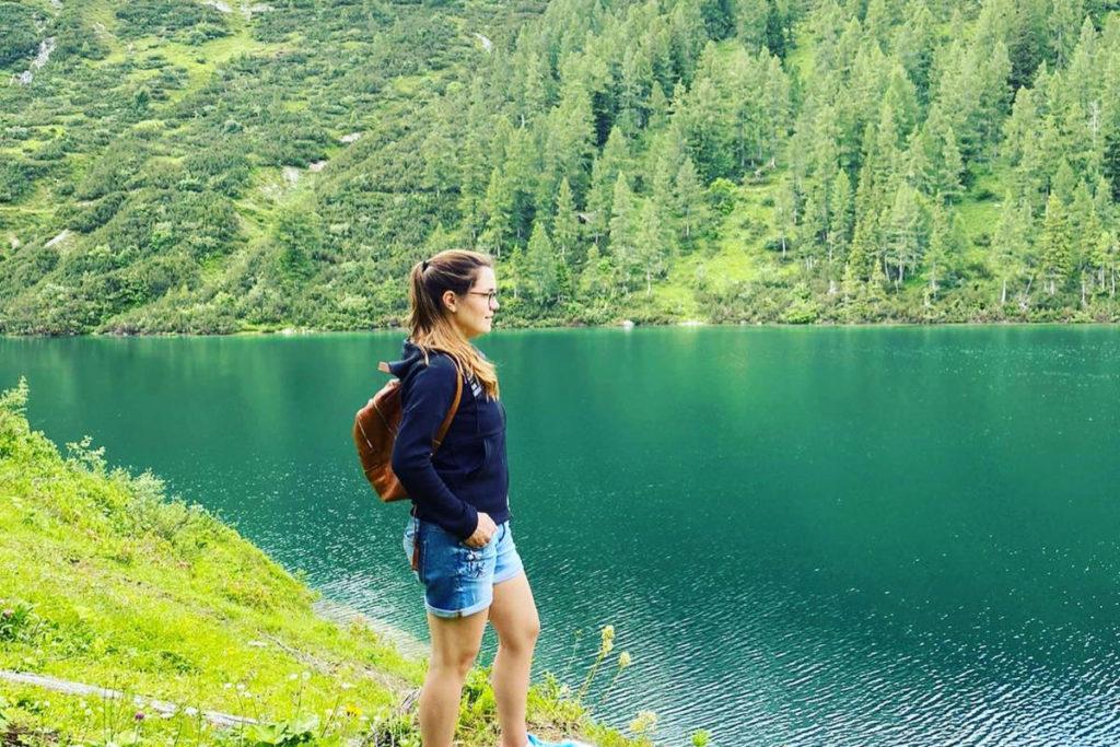 Viktoria Urlaub Österreich Bergsee