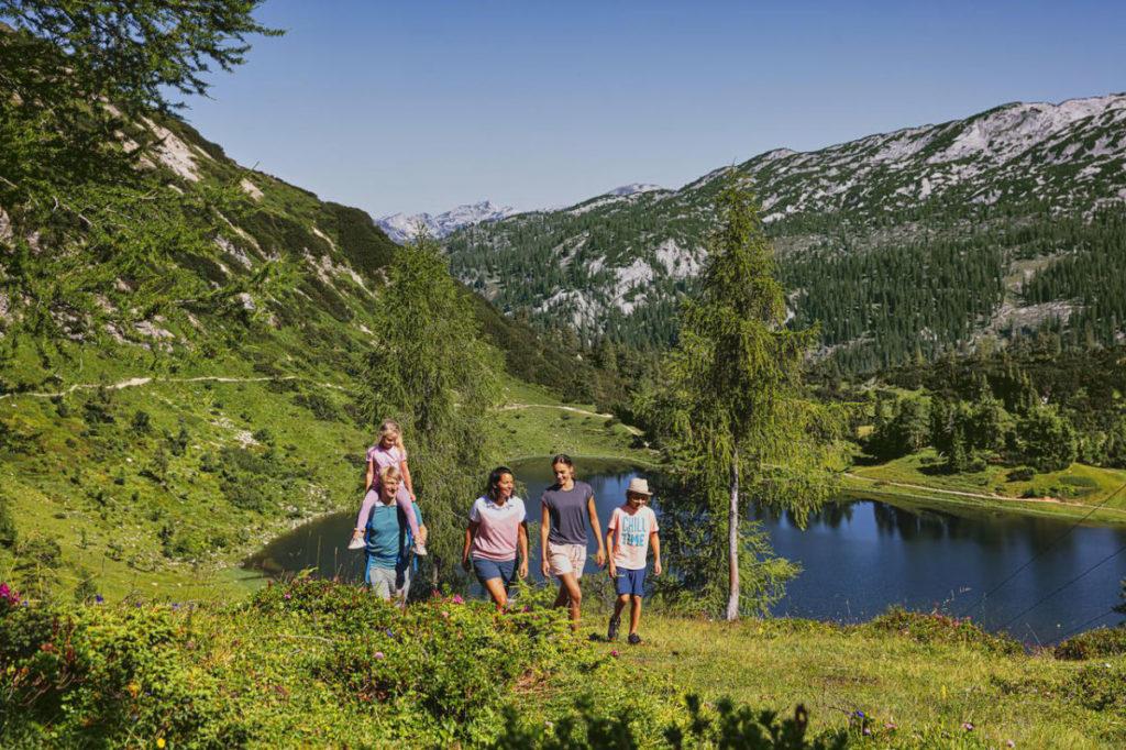 Seen Österreich Wandern