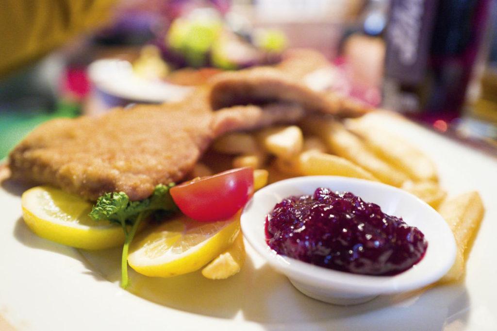 Typisch österreichisch: Wiener Schnitzel