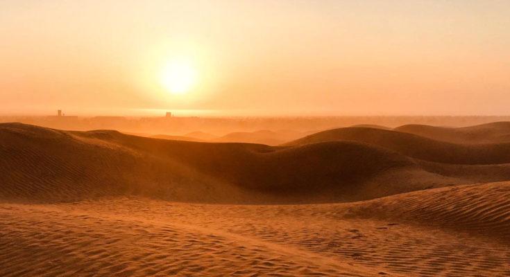 Ausflug Wüste Tunesien: Sonnenaufgang Camp Zmela