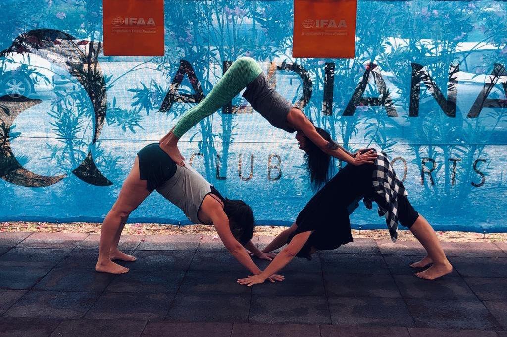 Yoga Pyramide